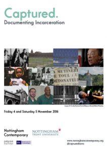 Captured: Documenting Imprisonment Nov 2016